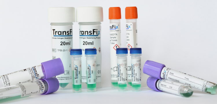 TransFix products for sample stabilisation for flow